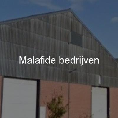 Malafide bedrijven