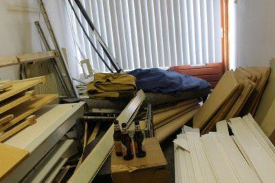 slaapplek arbeidsmigrant